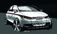 Der Audi A2 concept - Raum-Konzept auf Premiumniveau