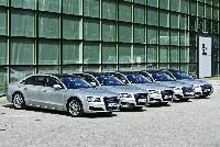 Audi A8 Festspielflotte steht parat