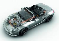 Porsche auf der Michelin Challenge Bibendum in Berlin