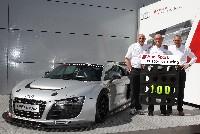 100. Sieg für den Audi R8 LMS