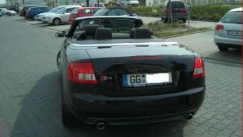 jein -Audi A4 Cabriolet