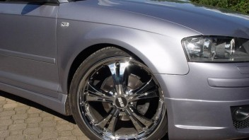 chromwheels -Audi A3