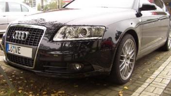 Silverblue -Audi A6 Avant