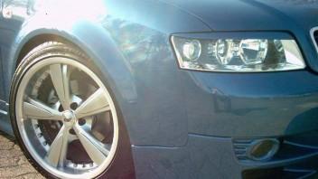 Blue Thunder -Audi A4 Limousine