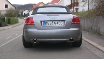 Fatcartman -Audi A4 Cabriolet