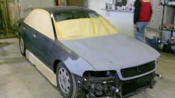 Black_A4 2006 -Audi A4 Limousine