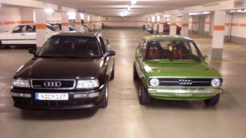 Manfred M. bzw. Sohn -Audi 80/90