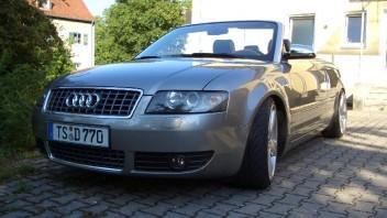 smurf -Audi A4 Cabriolet