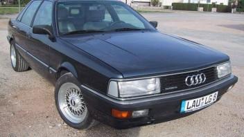 Babsi bzw. mein Mann (verkauft) -Audi 200