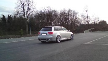 AudiQuattroTFSI -Audi A4 Avant