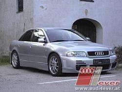 laser -Audi A4 Limousine