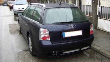 pickup -Audi A4 Avant