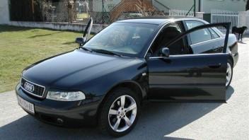 audi_a4_turbo -Audi A4 Limousine