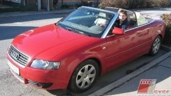Sekt -Audi A4 Cabriolet