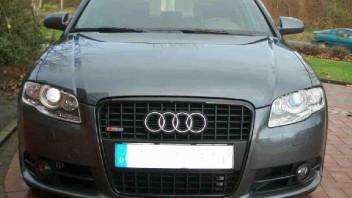 B-Sieben -Audi A4 Limousine
