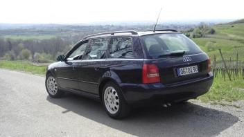 Schnullerexpress -Audi A4 Avant