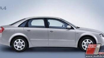 Goldbarren -Audi A4 Limousine
