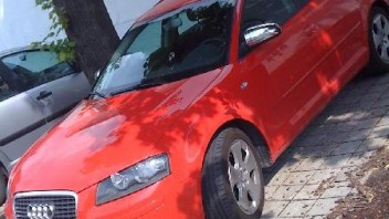Rosso Hensen -Audi A3