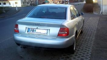 handspring -Audi A4 Limousine