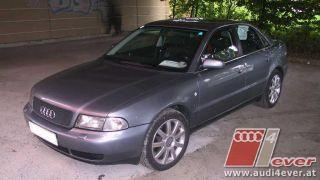 Weissi -Audi A4 Limousine