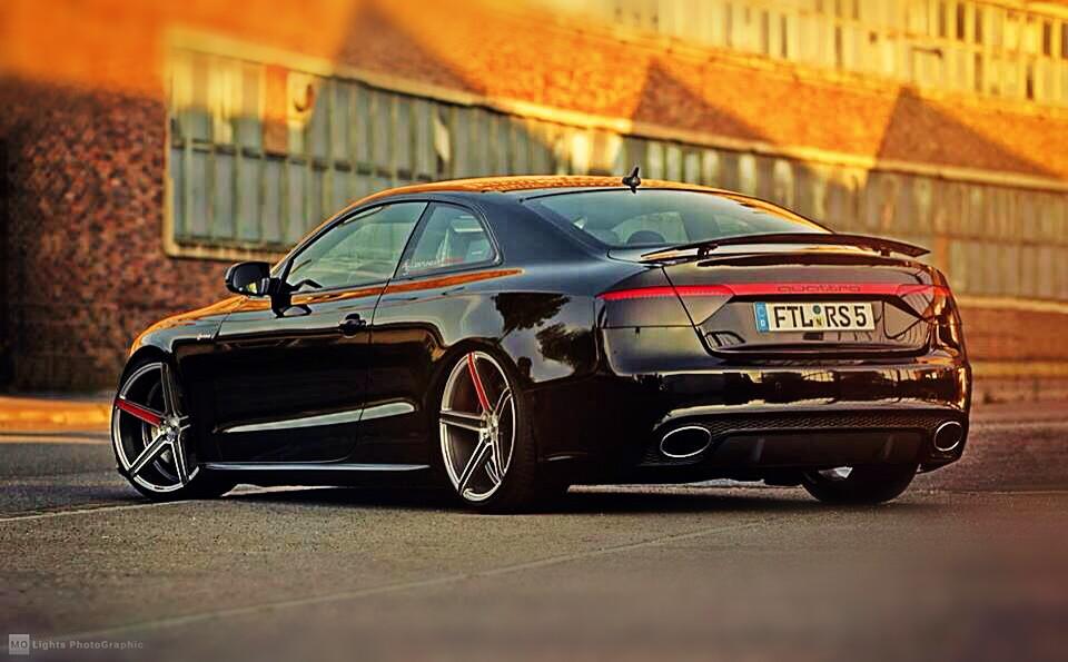 Audi a5 ausfahrbarer heckspoiler