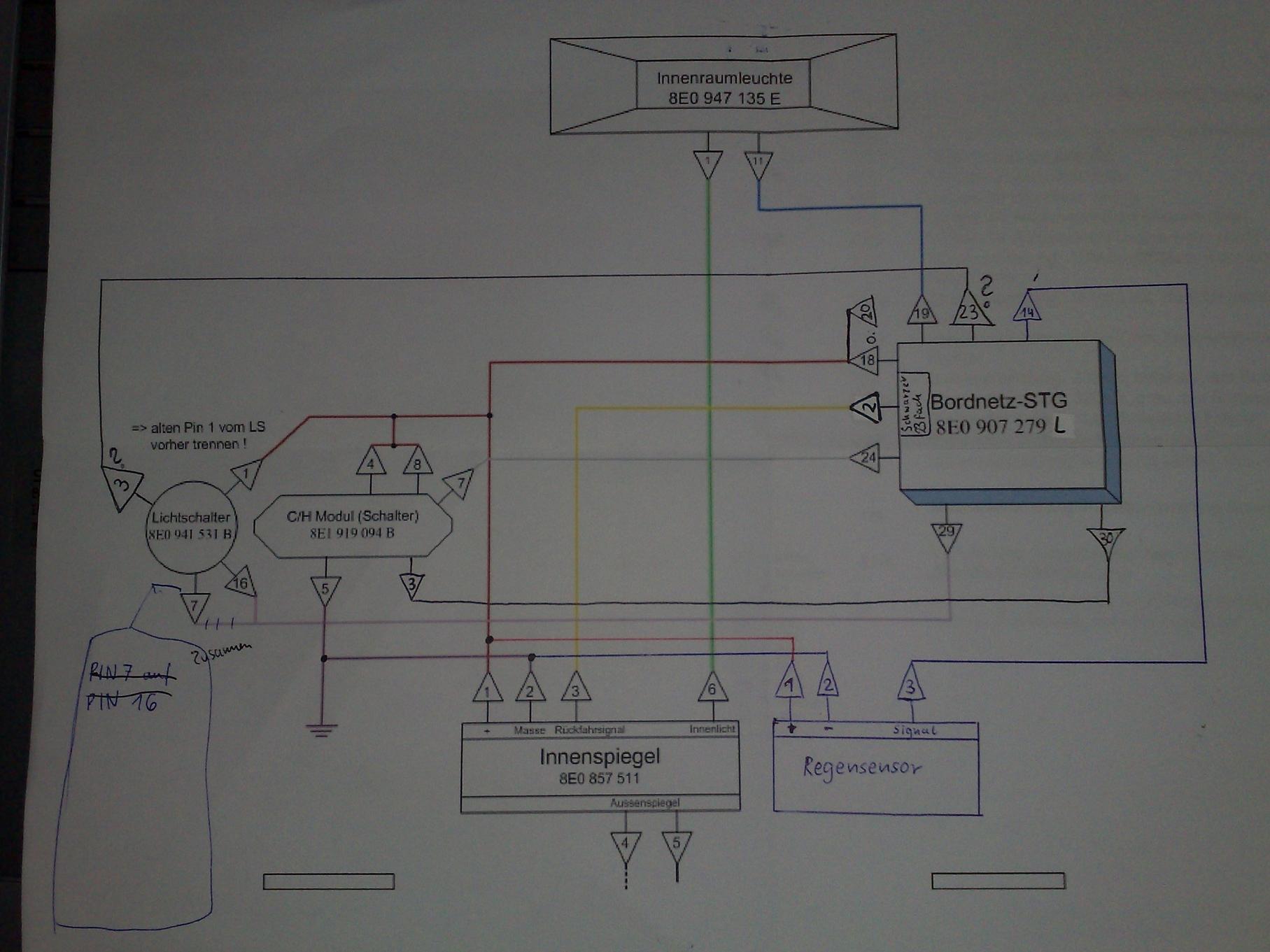 Berühmt Schaltplan Des Automatischen Lichtschalters Bilder ...