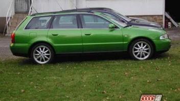 grünerA4 -Audi A4 Avant
