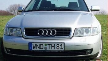 AudiQuattroTDI -Audi A4 Limousine