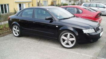 AudiA4OÖDriver -Audi A4 Limousine