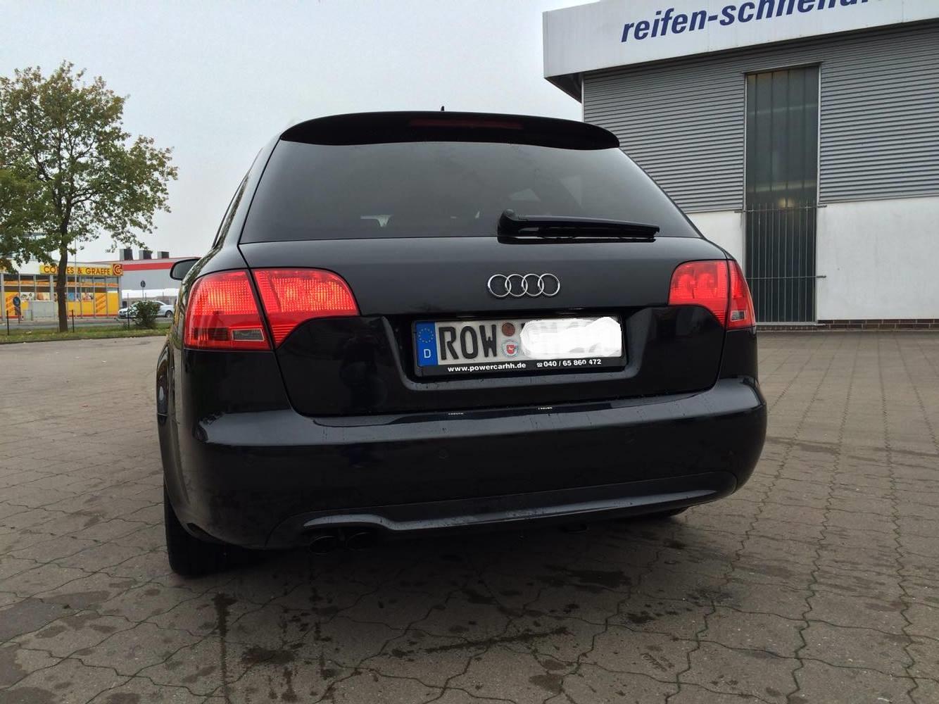 Tdi Auspuff Update Gerade Endrohre Audi4ever