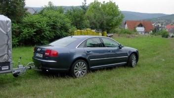 Domber's Dad -Audi A8