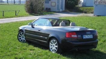 VERKAUFT -Audi A4 Cabriolet