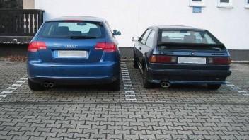moerfi und magicrat -Audi A3