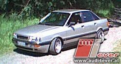 Teddybaer -Audi 80/90