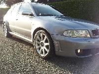 Der erste Waschgang ;) - Audi RS4 B5
