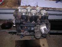 Golf4 R32 Biturbo Umbau - Motoraufbau