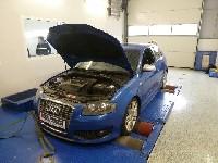 mein Audi S3 8P auf dem Leistungsprüfstand