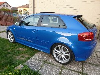 Audi S3 8P - 90000km Service und Bremsen