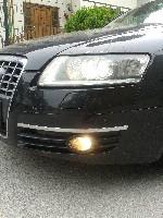 Audi A6 4F VFL H7 Nebelscheinwerfer Birnentausch auf MTEC Super White MT-440 E13
