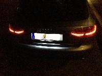 A4 B8 Avant VFL LED auf FL LED Heckleuchten