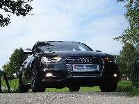 Audi A4, S4 Grill verbaut, kleines Fotoshooting
