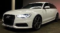 Vorstellung Audi A6 Avant 3.0 TDI Sportquattro 150(204) kW(PS) S tronic ibisweiß
