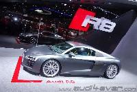 Audi R8 in Genf 2015 & R8 LMS inkl. Soundcheck