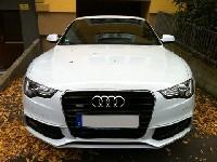 Audi A5 Facelift, erster Live Kontakt