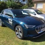 Audi E-Tron auf Sylt gefahren