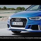 Audi RS3 Sportback Trailer