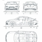 Audi TT RS Coup /Fahrzeugdaten