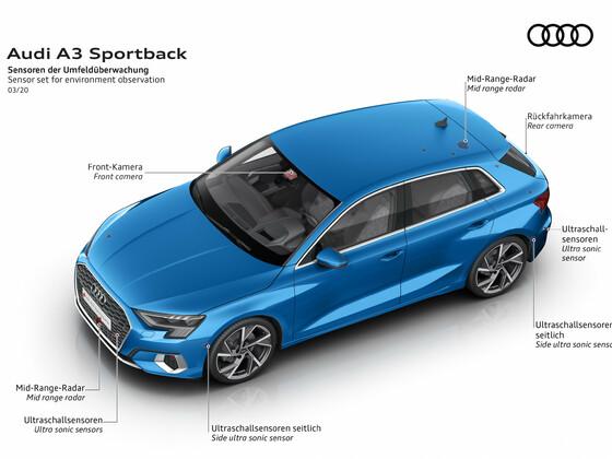 Audi A3 Sportback 2020