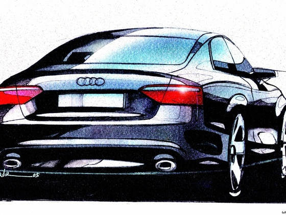 Audi S5/Design