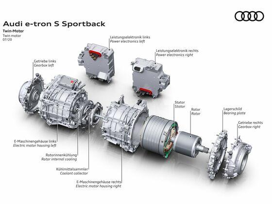 Audi e-tron S und Audi e-tron S Sportback